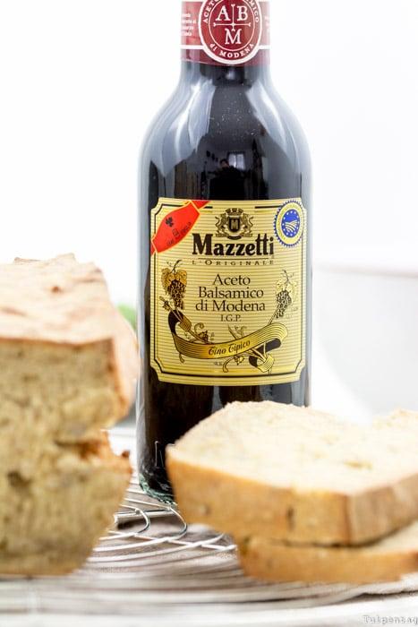 Mazzetti l'orginale Aceto Balsamico di Modena Brot Rezept