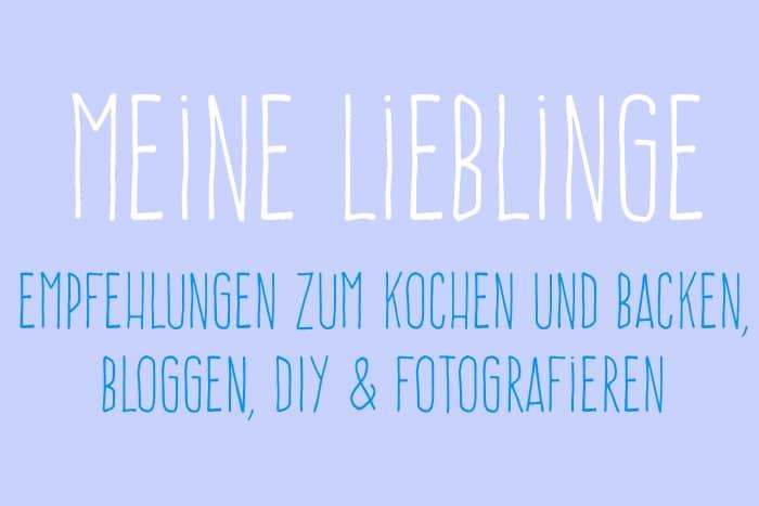 Empfehlungen Bloggen DIY Fotografieren