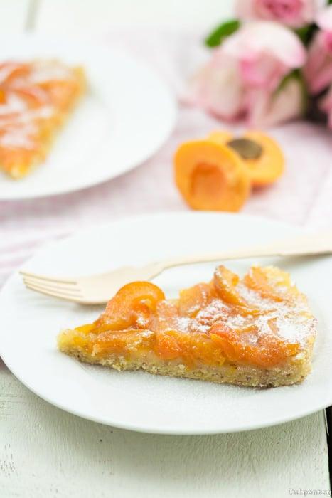 Tarte Madeln Mandeltarte Aprikosen Kuchen Rezept