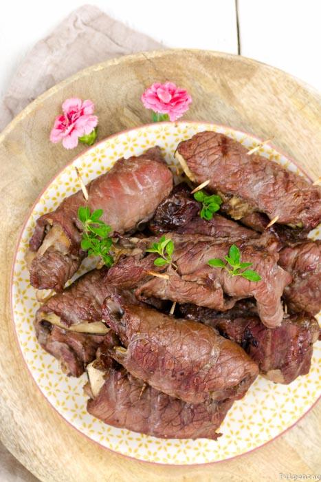 Chutney Rezept Rouladen Aubergine Grill meingemachtes manufaktur