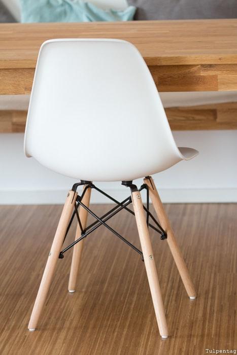 Deko Ideen Wohnzimmer Esszimmer Urban Jungle Essecke Eames Stuhl Nachbildung