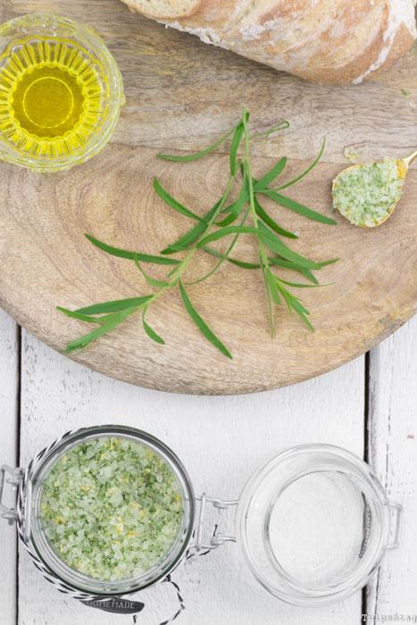 Russischer Estragon Zitrone Salz Rezept