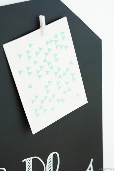 Schultafellack Tafellack Tafelfarbe Rust Oleum Memoboard DIY Büro