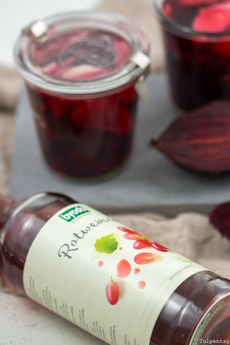 Rote Bete Rezept eingelegt gesund vegetarisch schnell Byodo