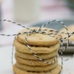 Einfache Stempel-Kekse mit Zimt