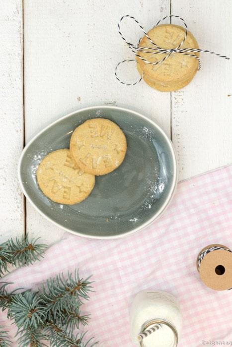 Plätzchen Weihnachten Kekse Rezept Zimt Stempelkekse Stempel-Kekse