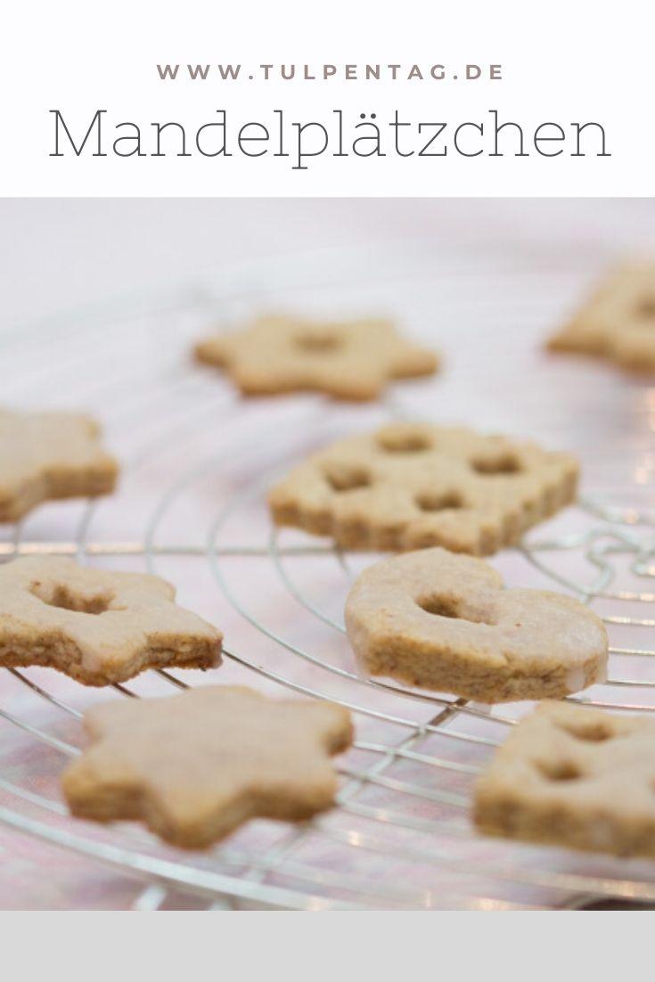 Mandelplätzchen mit Zimt. Rezept für schnelle und einfache Plätzchen mit Mandeln und Zimt.. Weihnachten