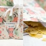 Tannenbaum-Nudeln, eine Verpackungsidee und ein toller Gewinn