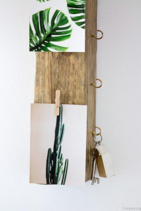 DIY Schlüsselbrett Schlüsselboard Treibholz selbermachen