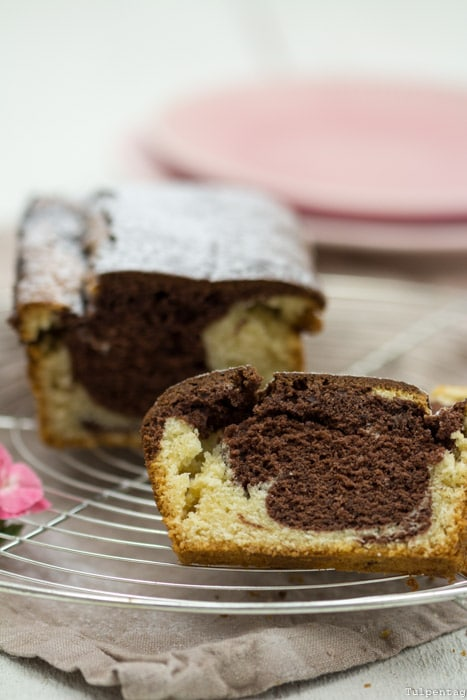 Marmorkuchen Rührkuchen Rezept ohne Ei