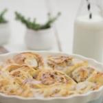 Hefeschnecken-mit-Marzipan-und-Mandeln