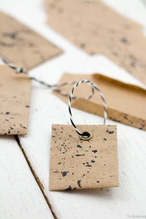 DIY Ostern Mitbringsel Samentütchen selbermachen Packpapier