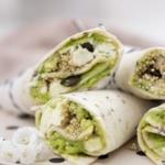 Vegetarische Wraps mit Feta, Avocado und Quinoa-4
