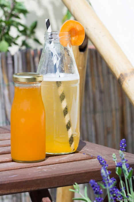 Seeberger Soft-Aprikosen Snack Limonade Sirup Aprikosen