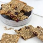 Frühstücks-Cracker-Snack-Trockenfrüchte