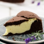 Schokoladenkuchen mit Käsekuchen-Füllung-4
