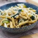 Schnelle-Zucchini-Parmesan-Pasta