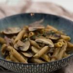 vegetarische One-Pot-Pasta mit Pilzen und Bergkäse-3