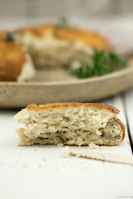 Rezept für herzhafte Scones mit Oregano und Parmesan #schnell #rezept #vegetarisch #scones #herzhaft #einfach