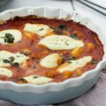 Gnocchi-Tomatensoße-Frischkäse-Mozzarella-überbacken-ofen-vegetarisch-3
