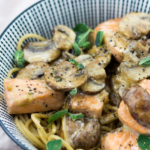Lachs-Pilze-Spaghetti-schnell-4