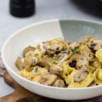 Tortellini-Champignons-Ziegenkäse-2