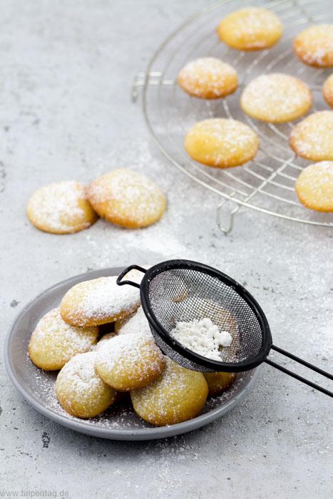 Einfache Plätzchen mit Frischkäse und Zitrone - Tulpentag. Foodblog.
