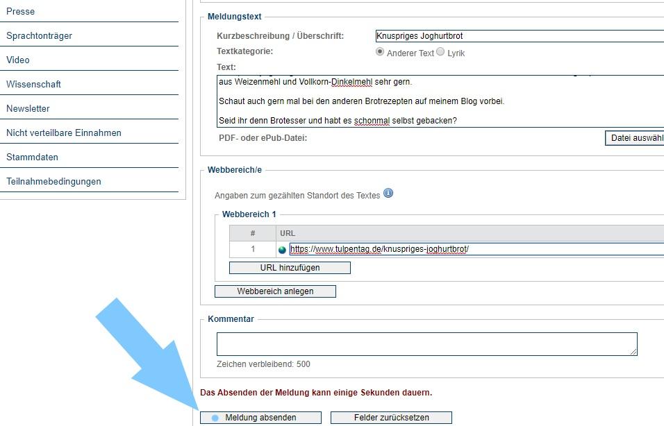 Wie reiche ich als Blogger Beiträge bei der VG Wort ein? #bloggen #tipps #geldverdienen #einnahmen #blog