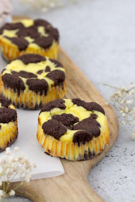 Muffins im Zupfkuchen-Style. Schnell und einfach zu machen. Rezept für 12 Muffins.